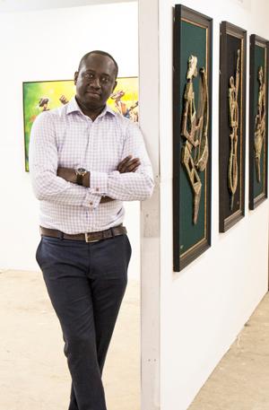 African Artist Alfred Addo